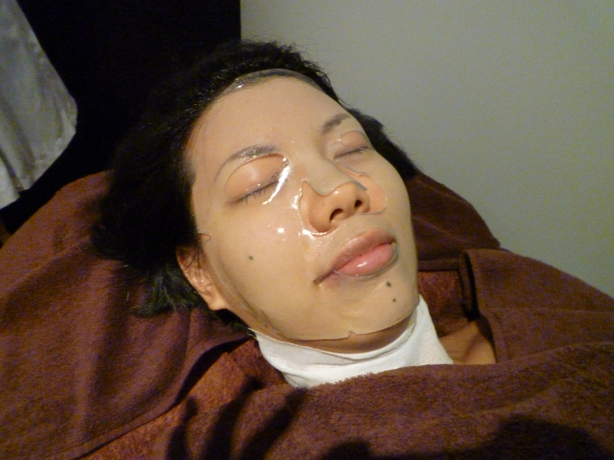 tri collagen mask