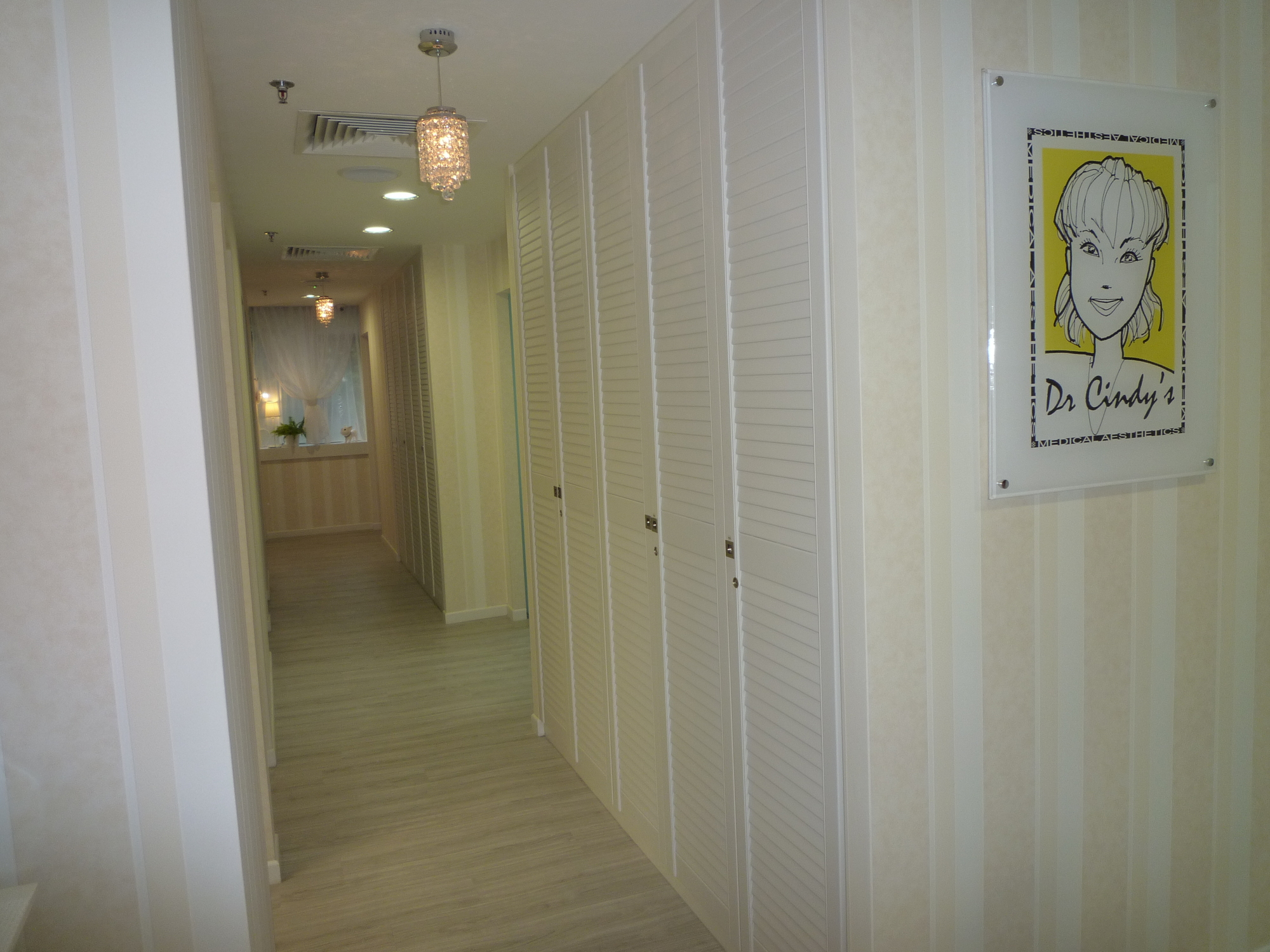 Dr Cindy's Medical Aesthetics walkway