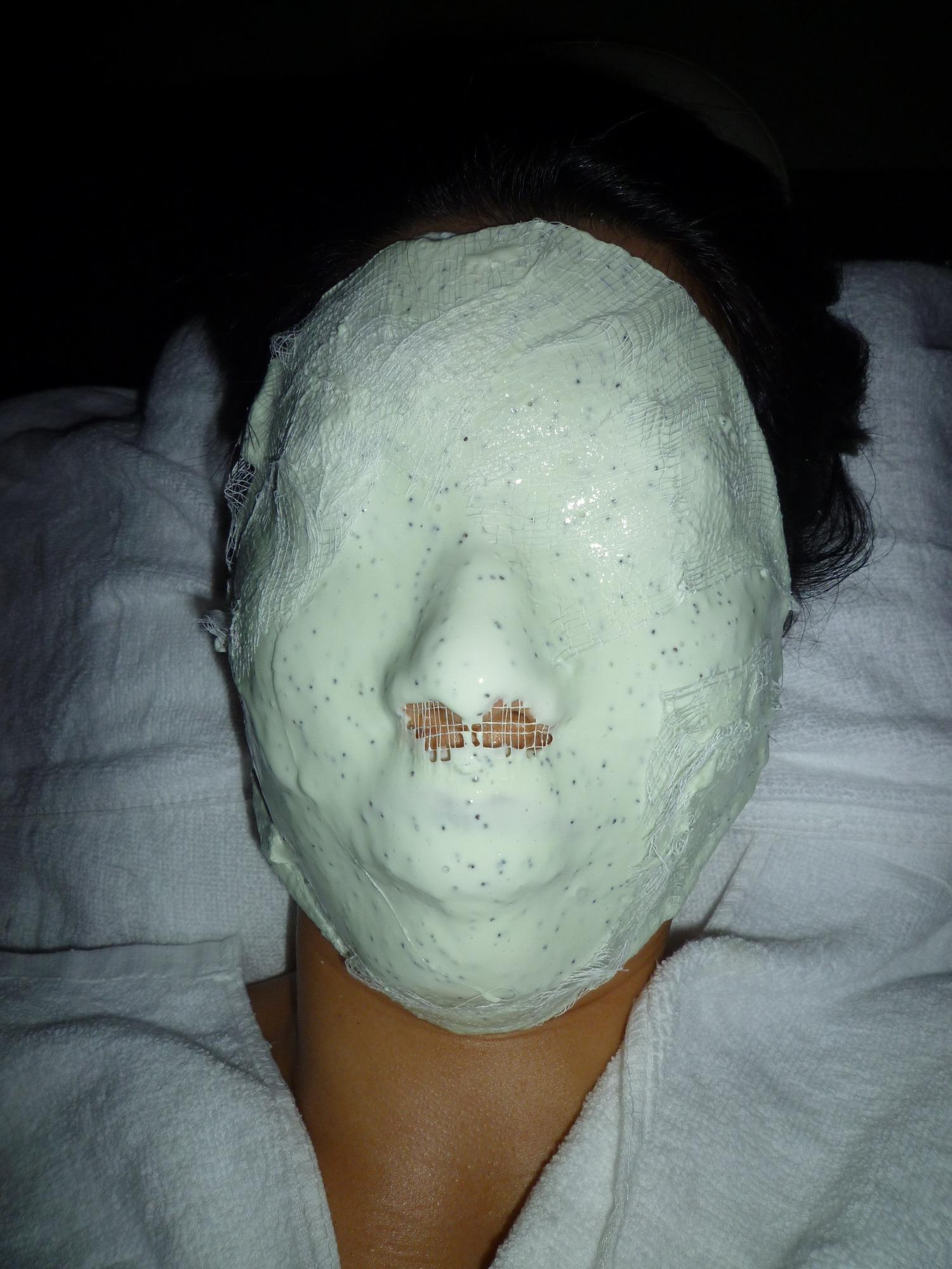 kiwi brightening mask