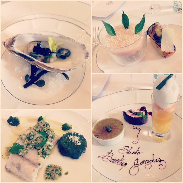 Our indulgent five-course meal by Michel Roux at La Maison.