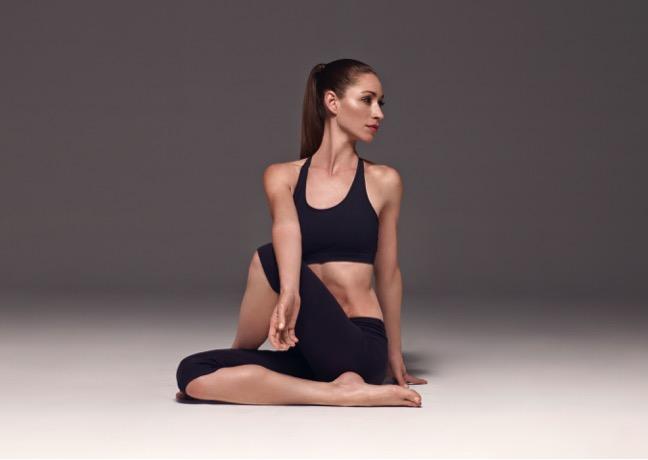 Tara Stiles - founder of Strala Yoga.