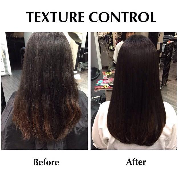 Say goodbye to frizzy hair with Texture Control.