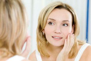 Derma rolling for healthier skin.