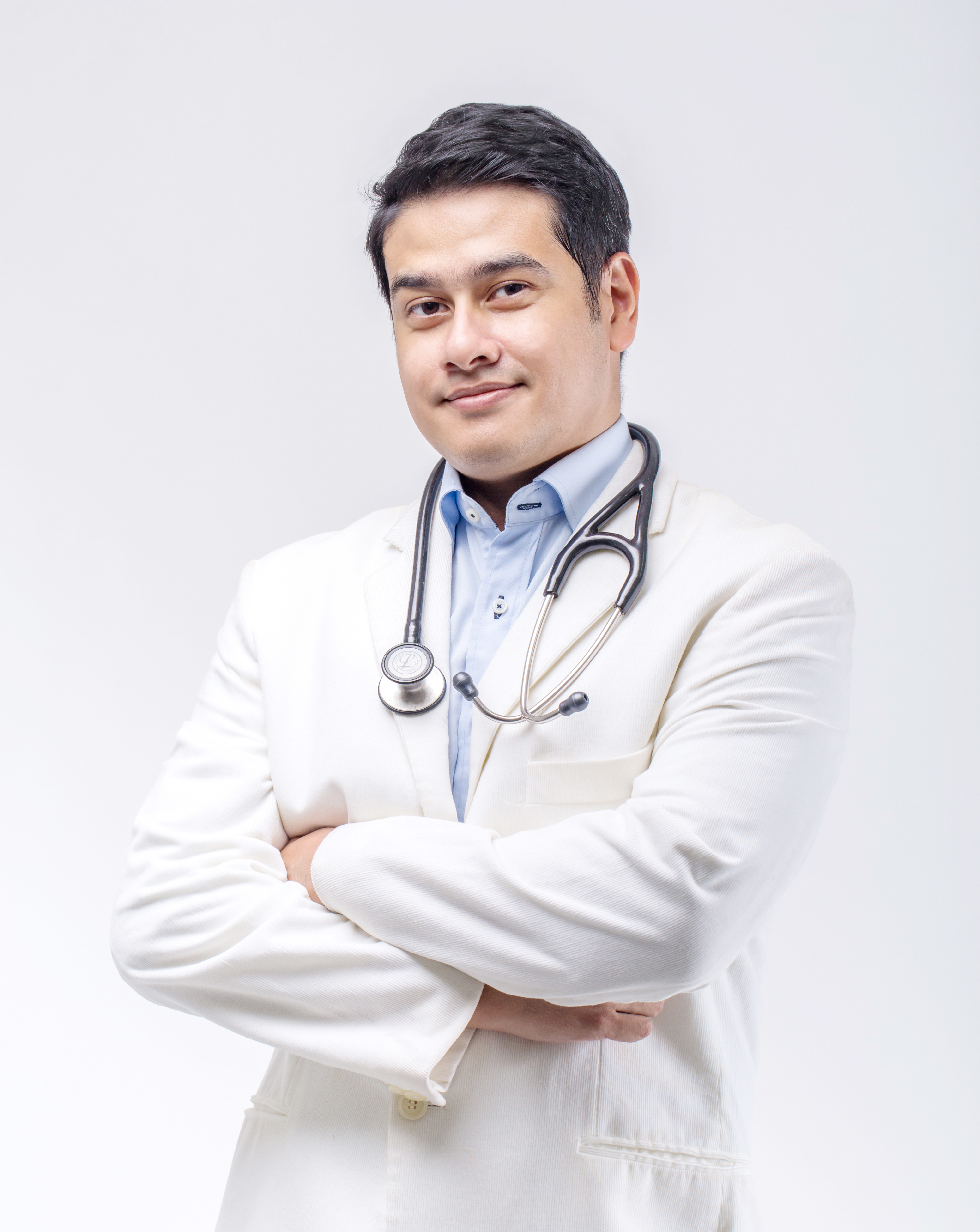 Resident doctor, Dr Fin