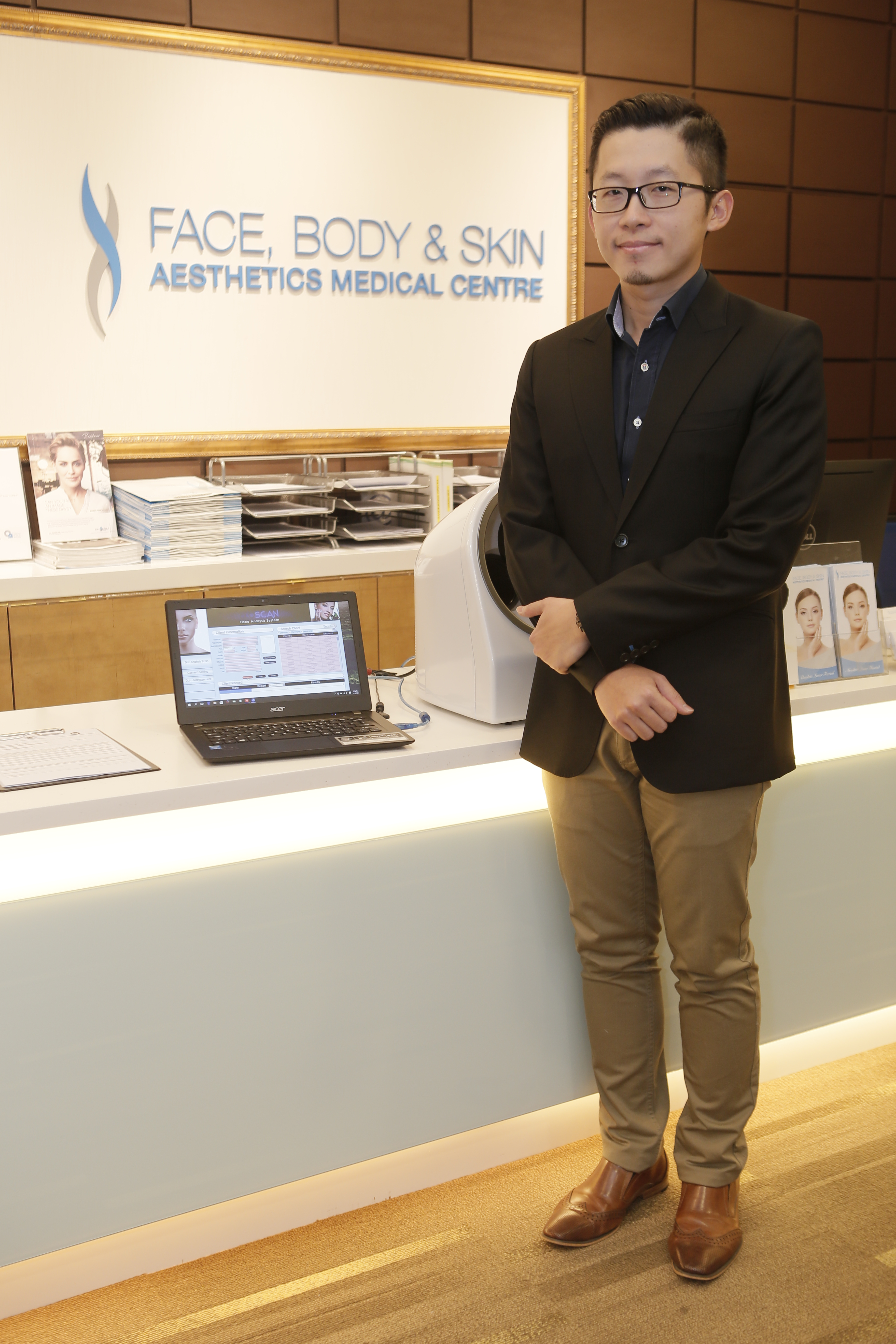 The expert is in - Dr Chiam Chiak Teng at Face, Body & Skin Aesthetics.